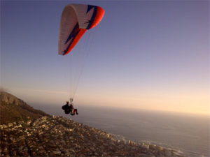 Tandem Paragliding from Signal Hill