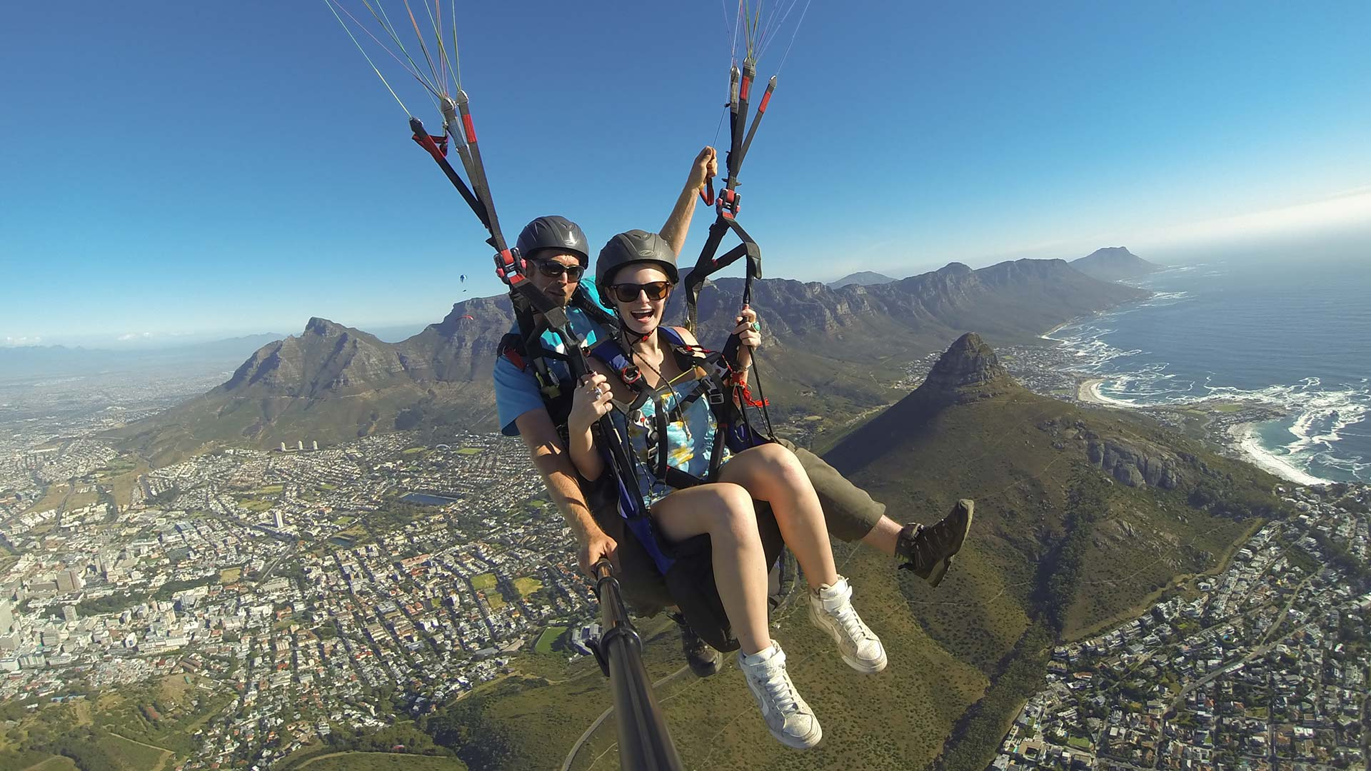 Image result for tandem paragliding cape town