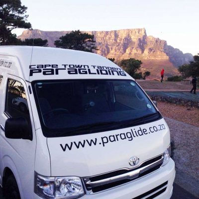 Paragliding Transfers
